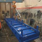 Tillverkning gjutbord