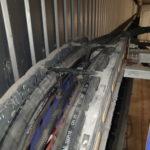 Byte hydraulslangar lastbilstvätt